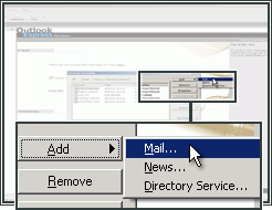 Voeg een e-mailaccount toe aan Outlook Express.